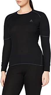 Odlo 奥递乐 女士 ORIGINAL X-WARM长袖圆领衫 155161-15000