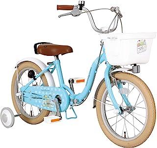 Streamline 角落生物 折叠式儿童自行车 16英寸 钢制框架 JP8754 with M&M 蓝色 小