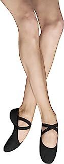 Bloch Dance 女式 Performa 弹性帆布分离式鞋底芭蕾舞鞋