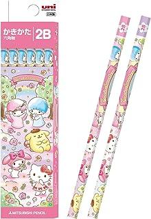 MITSUBISHI 三菱铅笔 铅笔 Hello Kitty 纸盒 2B 1打12支 K56002B