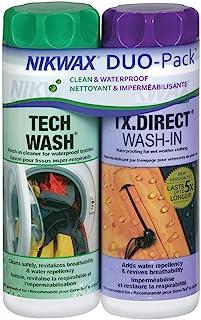 Nikwax 硬壳清洁和防水两件套套装
