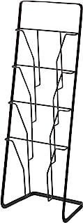 YAMAZAKI Tower 杂志架 钢制 黑色 均码