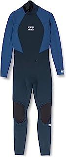 BILLABONG 男士 Intruder 3/2 毫米后拉链 GBS 潜水服 - *蓝
