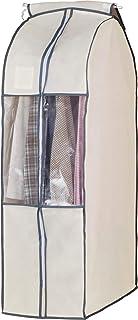 衣橱 衣物整理罩 米黄色 スーツ用
