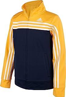 adidas 阿迪达斯男孩拼色针织夹克