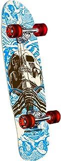 Powell Peralta 滑板完整迷你巡洋舰骷髅和剑蓝色 8 英寸 x 30 英寸