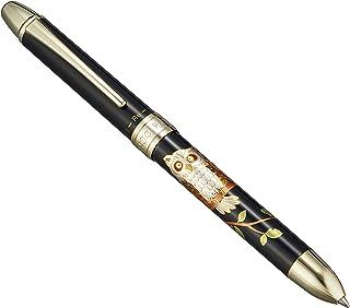 PLATINUM 日本白金 莳绘复合笔 办公用圆珠笔铅笔 猫头鹰
