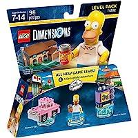 Lego 维层套装 The Simpsons