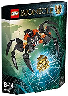 LEGO 乐高 拼插类玩具 Bionicle生化战士 骷髅蜘蛛王 70790