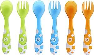 Munchkin 叉子和勺子6件套