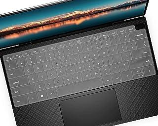 键盘保护膜适用于 2020 戴尔 XPS 13 9300 9310 13.3 英寸笔记本电脑,戴尔 XPS 13 9300 配件,戴尔 XPS 13 9310 2 合 1 触摸屏笔记本电脑键盘保护膜 - 透明