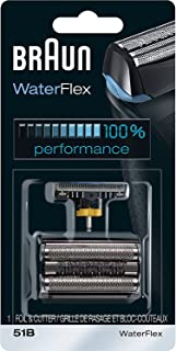 Braun 博朗 Series 5 51B 铝箔剃刀更换头,与Waterflex剃须刀兼容
