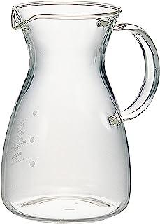 HARIO(好璃奥) 耐热咖啡*器 透明 幅11.1×奥行9×高さ13.8cm、口径7.2cm -
