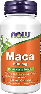 NOW Maca 500mg, 100 Veg Capsules