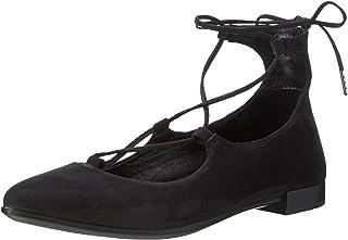 ECCO 女式形状尖芭蕾舞女芭蕾平底鞋
