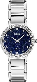 Seiko 精工 女士 不锈钢表带手表 银色