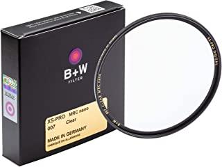 B+W82毫米XS-Pro Clear滤镜 带有多层纳米涂层(007M)