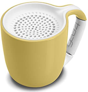 Gear4 Espresso Cup Portable Wireless Universal 3.0 Bluetooth Speaker Pastel Yellow