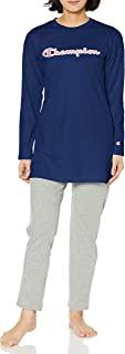 Champion 家居服 长袖长裤(长袍尺寸) 30SZ天竺棉 女士