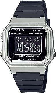 Casio 卡西欧 男士数码石英手表带树脂表带 W-217HM-7BVEF
