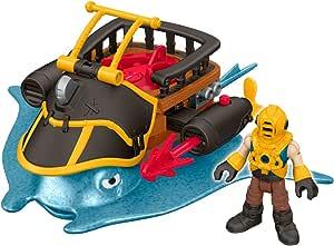 Fisher-Price Imaginext Nemo 队长和黄貂鱼