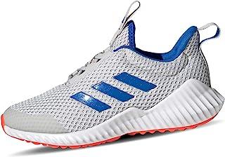 adidas Unisex-Child FortaRun Road Running Shoe, Grey/Glory Blue/Solar Red, 32 EU