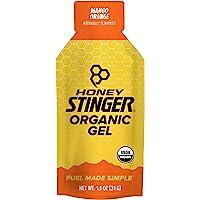 Honey Stinger Organic Energy Gel, Mango Orange, 1.1 Ounce (P…