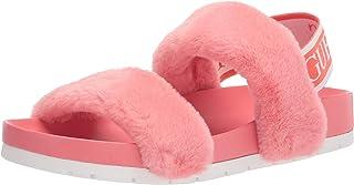 GUESS 女式 Fabin 拖鞋