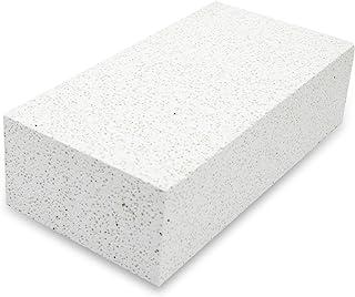 [高级] 锻造防火砖,软隔热火砖,适用于披萨烤箱,炉子,2700F 壁炉砖,火坑配件,用于加热器,金属粘土,珠宝焊接 9 x 4.5 x 2.5 英寸(约 22.8 x 11.4 x 6.3 厘米)