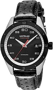 Montblanc 万宝龙 手表 Timwarker 116061 男士 平行进口商品 黑色