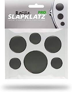 SlapKlatz PRO Refillz 鼓式阻尼器(黑色)  12 件   3 种尺寸  *
