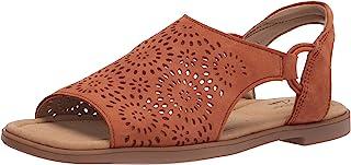 Clarks Reyna Swirl 女士平底凉鞋