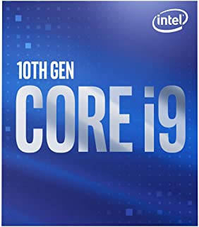 intel 英特尔 Core i9-10900 台式机处理器,10个内核,不高于5.2 GHz LGA 1200(Intel 400系列芯片组),65W