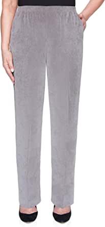 Alfred Dunner 女士经典灯芯绒套穿比例中裤 - 加大码