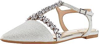 Jewel by Badgley Mischka 女士 Rae 芭蕾平底鞋