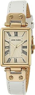 Anne Klein 安妮克莱因 女士皮革表带手表 AK/3752