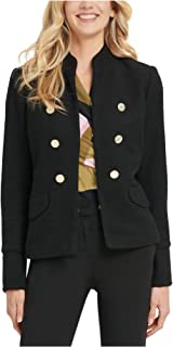 DKNY 女式黑色西装外套上班夹克尺码 2
