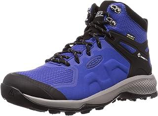 KEEN 男士 Explore Mid WP 登山靴,8.5 UK