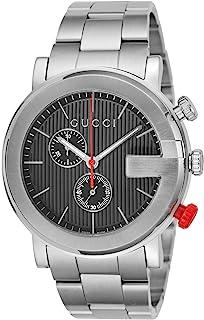 [グッチ]GUCCI 腕時計 Gクロノ ブラック文字盤 YA101361 メンズ 【並行輸入品】