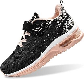 PERSOUL Air Shoes 男童女童儿童网球运动健身房跑步运动鞋
