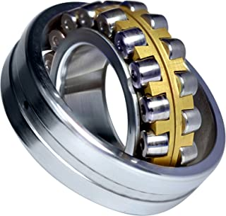 URB 22320 KMC3W33 球形滚柱轴承,加工黄铜笼,W33 油槽,100 mm 内径,215 mm 外径,73 mm 宽