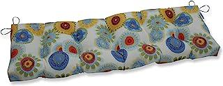 Pillow Perfect 653815 户外/室内Crosby 五彩纸屑簇绒长凳/秋千靠垫,152.4 厘米 x 45.7 厘米,多色