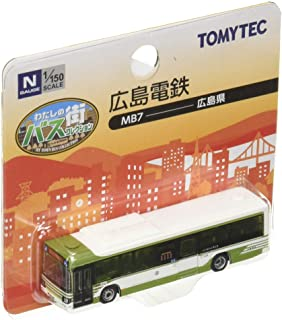 The Bus Collection 巴士收藏 我的街巴士收藏 MB7 广岛电铁 日野蓝色丝带QPG-KV290Q1 立体模型用品