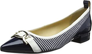 GEOX 女式 D charyssa A 芭蕾平底鞋