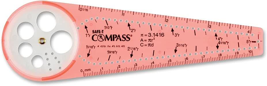 Learning Resources SAFE-T指南针,橙色,吸塑卡(45761)
