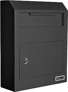DuraBox 壁挂式锁定存款吊柜*(W500-BK)(黑色)