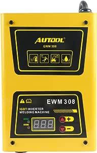 便携式弧形逆变器焊机,AUTOOL 120A IGBT 焊接机套装包括棒,过热保护,110V