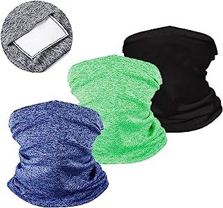 ZOORON 儿童颈部绑腿带过滤器面罩 头巾巴拉克拉法帽 适用于运动户外骑行