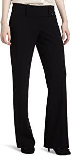 My Michelle 青少年宽腰带卡普里裤装 three-button TAB 长裤