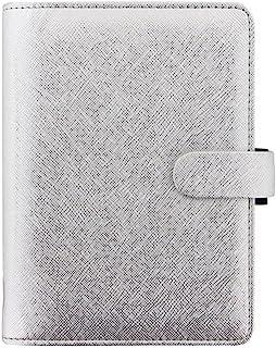 Filofax 2020 – Saffiano 个人尺寸 柔软保护套 收纳盒 – 银色